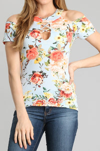 Floral Print Top - ATC Clothing