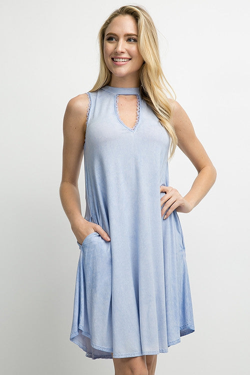 Mock Neck Dress - ATC Clothing