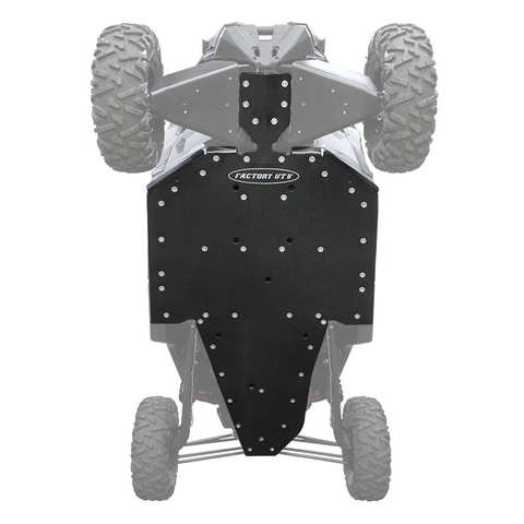Factory UTV Can-Am Maverick X3 Full Skid Plate - X-Brace Option