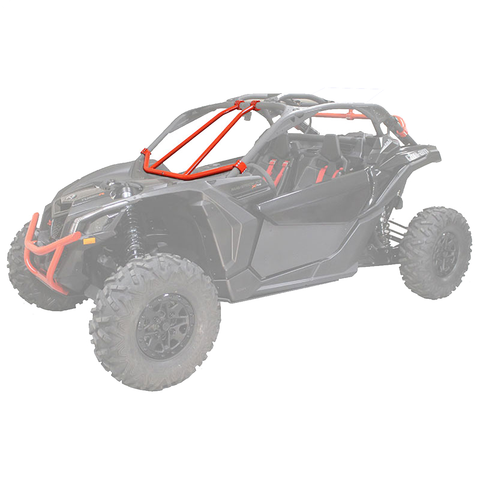 Factory UTV X3 MAX UHMW Skid Plate - X-Brace Option - 3/8""