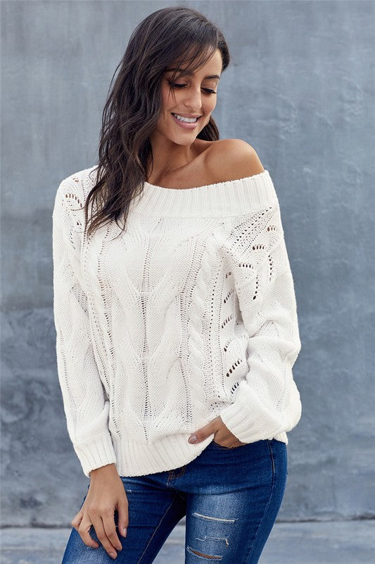 Zella Cable Knit Sweater