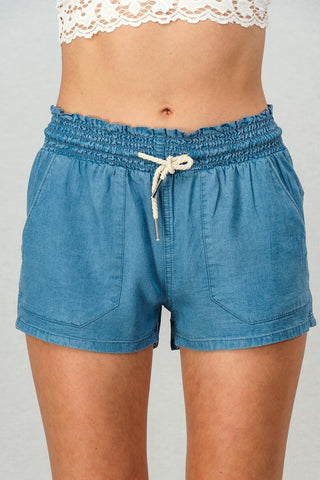 Leighton Drawstring Shorts