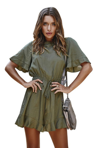 Grace Wide Leg Romper (multiple colors) Pre-Orders end 3-2 at noon!