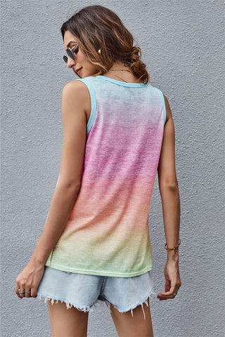 Summer Ombre Tank