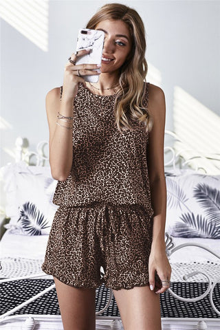 Ryder Leopard Lounge Set