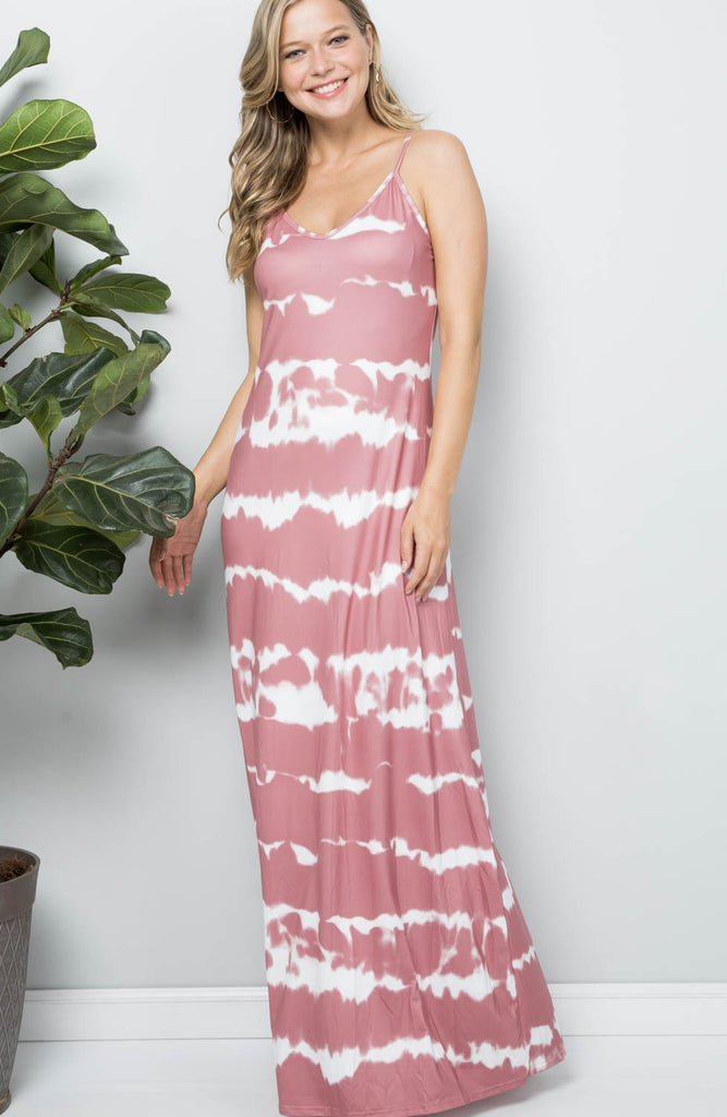Sammy Tie-Dye Maxi Dress