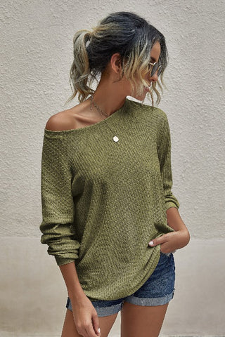 Clea Top (Rust or Olive)