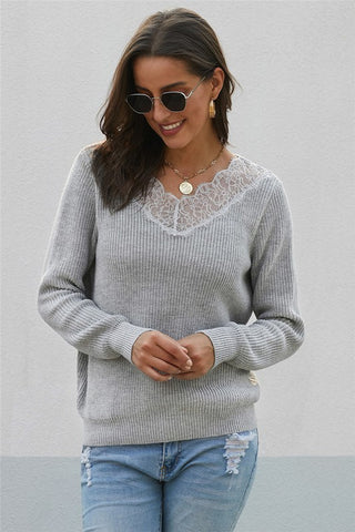 Kayla V-neck Sweater