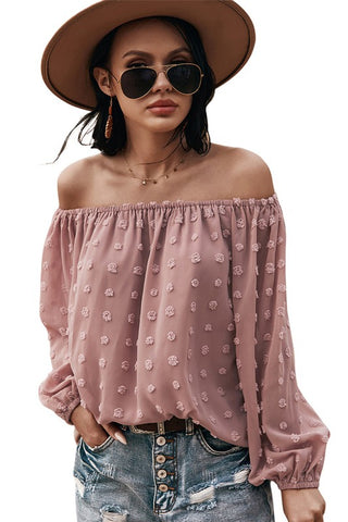 Lain Off The Shoulder Top (multiple colors) Pre-Orders end 3-2 at noon!