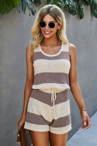 Zoe Sleeveless Romper