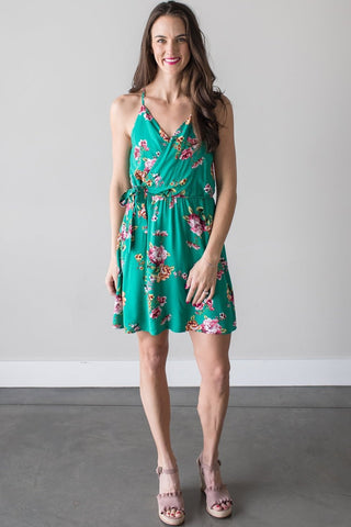 Jasmine Sleeveless Floral Dress