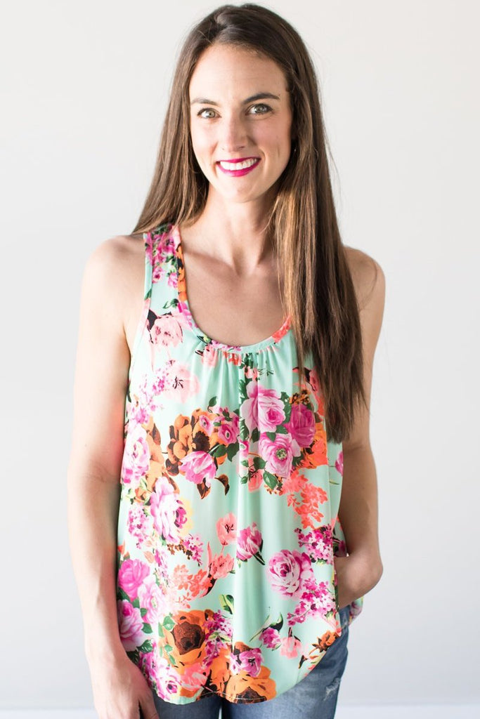 Z-Fitz Floral Tank Top