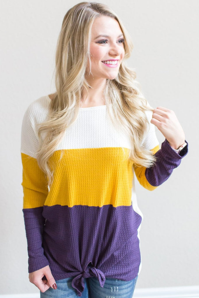 Keaton Color Block Top