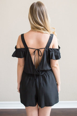 Kate Off The Shoulder Romper