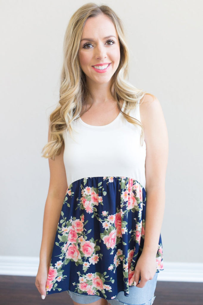 Piper Floral Tank