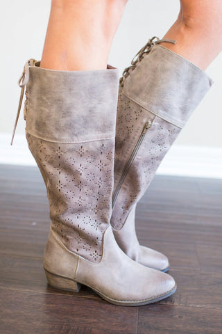 McKayla Lace-Up Boot