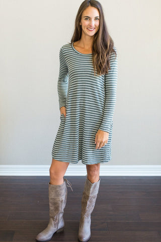 Presley Striped Dress