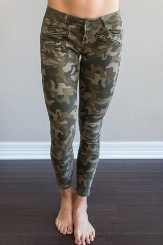 Cosmo Camo Pant (Olive, Brick or Blue)