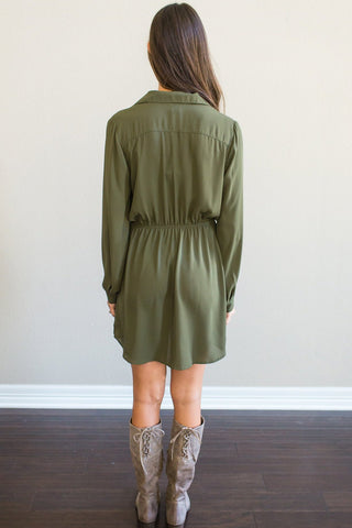 Hazel Drawstring Dress