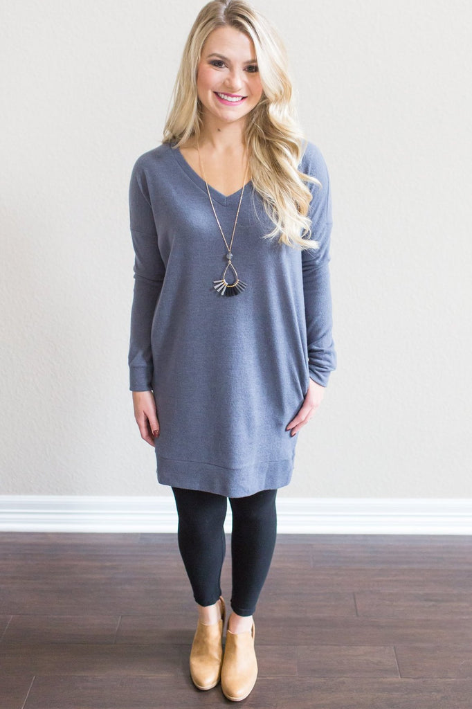 Nadia Pocket Tunic