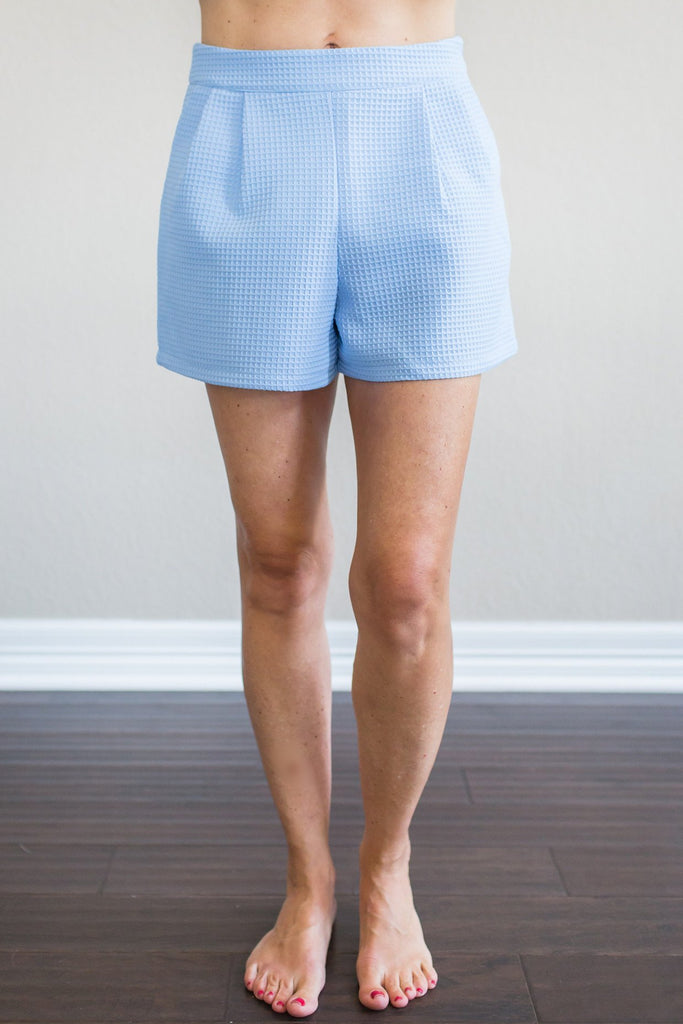 Pippa Periwinkle Shorts