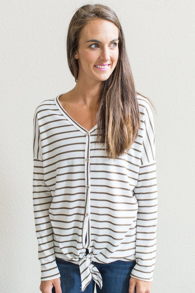 Erin Striped Top