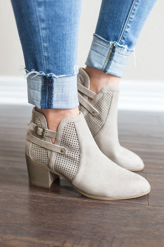 Shannon Buckle Bootie