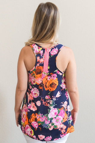 Darcy Floral Tank