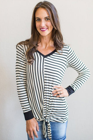 Everest Striped Top