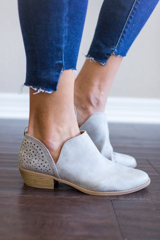Tinley Bootie (Gray or Camel)