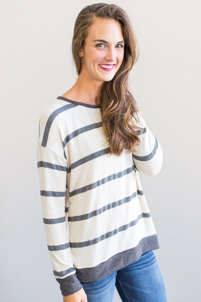 Z-Genevieve Knit Top