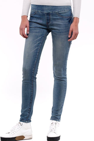 Penelope Stretch Jean - Light Wash