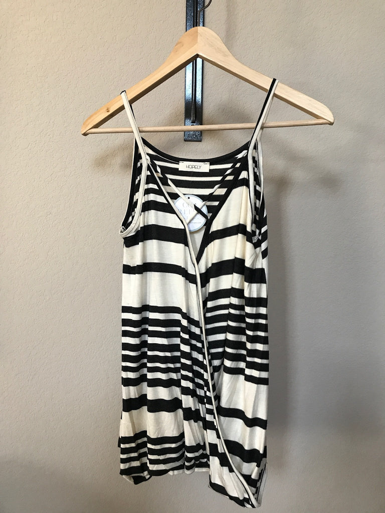 Toni Striped Top