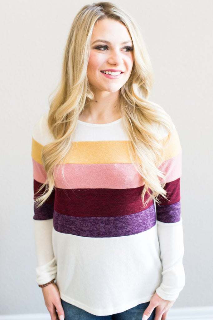 Brittney Colorblock Top