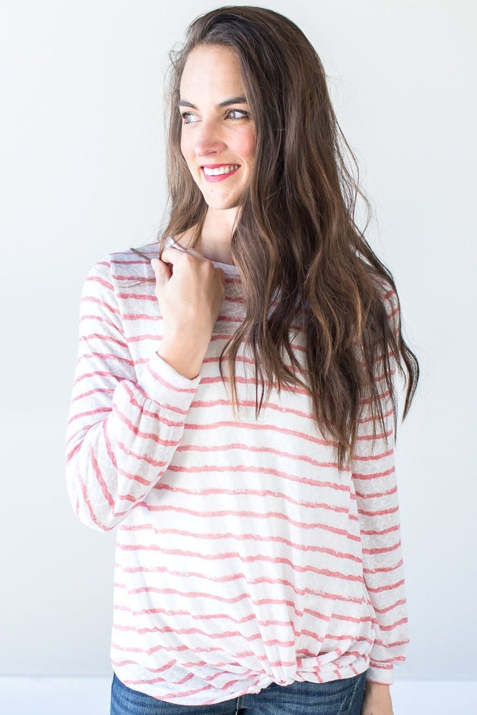 Talia Striped Top