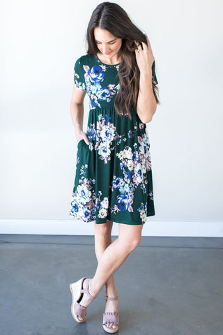 Candace Floral Midi Dress