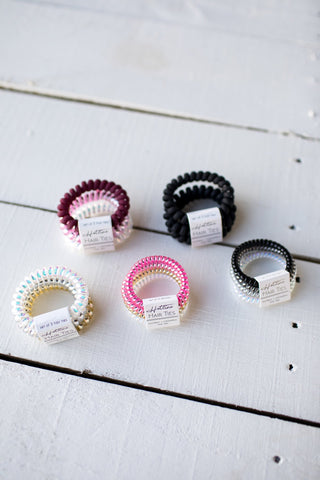 Hotline Hair Ties - Heartbreaker Set