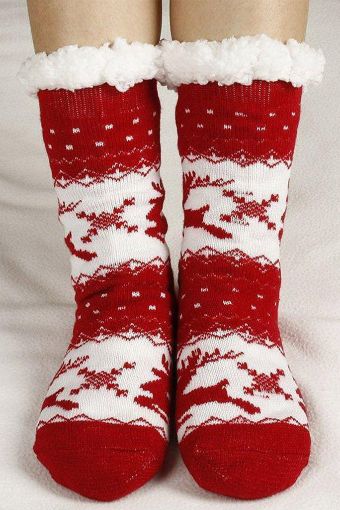 Cozy Christmas Socks
