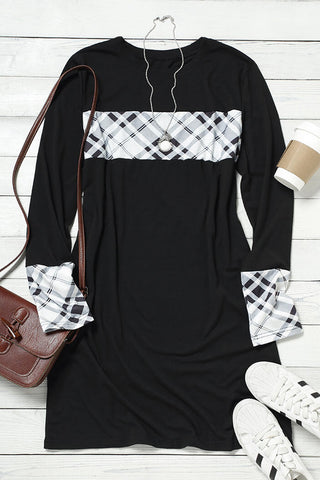 Beverlin Plaid Dress