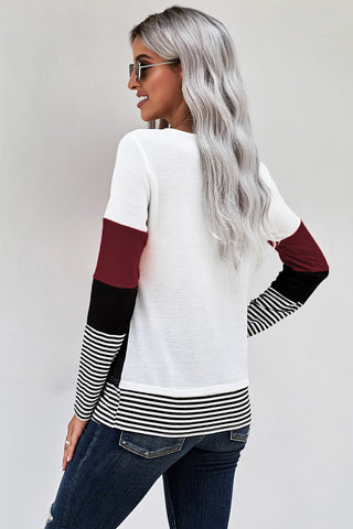 Carlyn Color Block Top