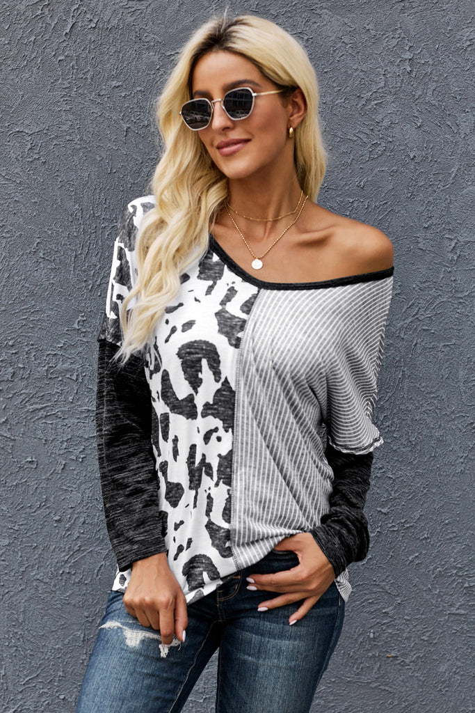 Kampbell Contrast Top