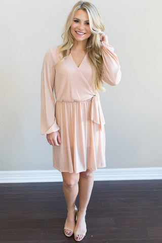 Noelle Tie Dress
