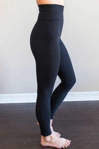 Zoe Tummy Control Leggings (Regular or Fleece Lined)