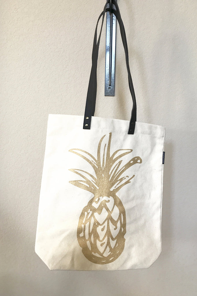 Z-Pineapple Shopper Tote