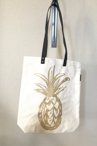 Pineapple Shopper Tote