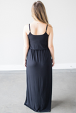 Z - Raven Knit Maxi Dress  (Royal Blue or Black)