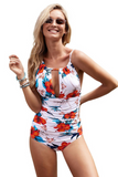 * Pre-order * Finley Tummy Control One-Piece Swimsuit - Floral or Black