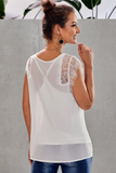 Landry Lace Trimmed Tank
