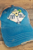 Stay Salty Vintage Distressed Hat