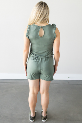 Cassia Sleeveless Romper